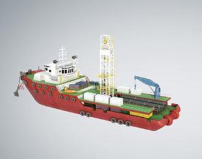 Offshore Supply Vessel 3D