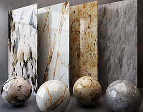 3D model Marble Texture17