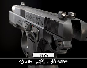 low-poly CZ85 - Model and Textures