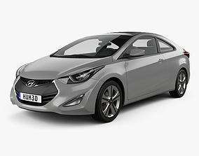 Hyundai Avante coupe 2014 3D
