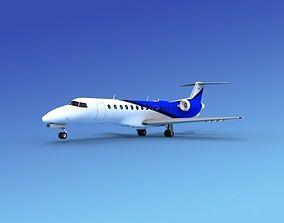 Embraer ERJ-135 Corporate 2 3D