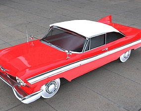 3D model realtime Plymouth Fury 1958