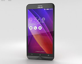 3D model Asus Zenfone 2 Glamor Red