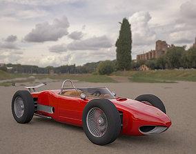3D ferrari 156 dino f1 sports car