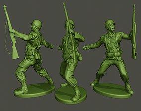 American soldier ww2 grenade A1 3D print model