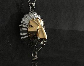 ballet pendant No 03 3D print model