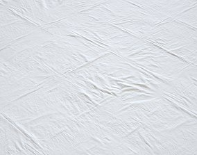 Soft cloth wrinkles texture 3D