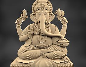 Ganesha 3D printable model sculptures