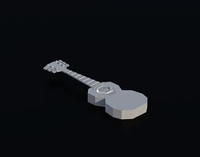 Guitar 01 3D model instrument