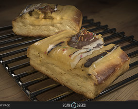 realtime Pastry 02 - Photogrammetry Asset 3D PhotoScan