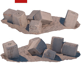 3D asset 144 Stone