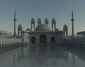 Mosque 3D asset