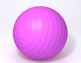 3D model Fitness ball