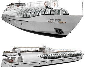 3D model Yacht Of The Radisson Royal Flotilla