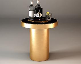 3D model SIDE TABLE CONCORD Eichholtz