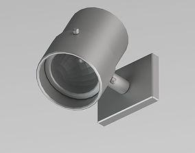 Silver Lamp 3D