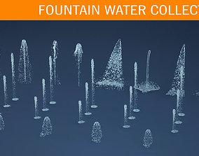 Water jet 3D model