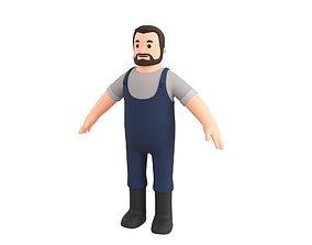3D model Character111 Man