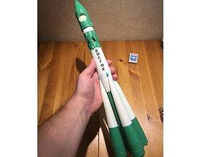 3D print model Soviet rocket R-7 family