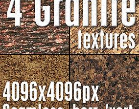 3D model 4 High Res Seamless Granite Textures Vol03 Part4