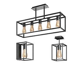 3D Nowodvorski CRATE lamp