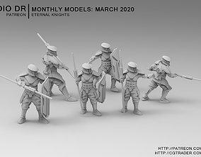 Eternal Knights 3D printable model