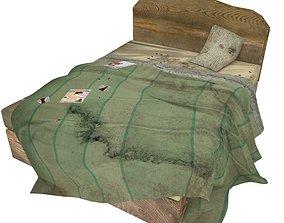 3D asset Bedcloth 74