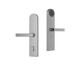 Intelligent door lock White design 3D model