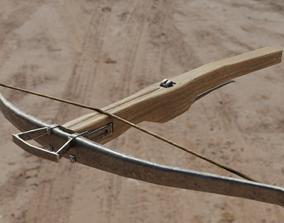 3D asset Medieval Crossbow 4k PBR Low poly