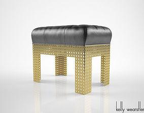 Kelly Wearstler Precision bench 3D model
