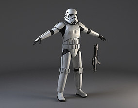 Star Wars Storm Trooper Rigged 3D