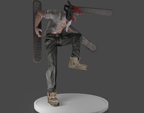 Denji Chainsaw Man 3D printable model