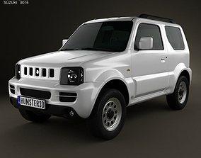 3D Suzuki Jimny 2012