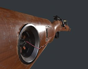3D asset The upgraded Mauser 98k rifle