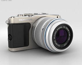 3D Olympus PEN E-PL5 Silver