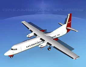 Fokker F-60 Air Charter America 3D