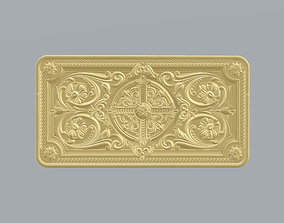 Ornament for Decor and Engraving 3D print model