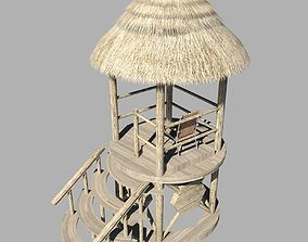 Lifeguard Tower 3d Model VR / AR ready