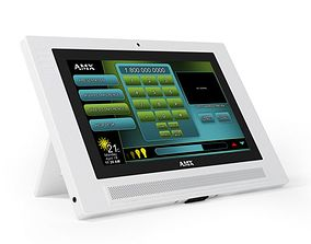 White Amx Home Automation System 3D model