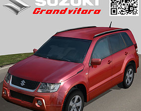 3D model Suzuki Grand Vitara red