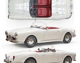 3D model Alfa Romeo Giulia Spider 1964