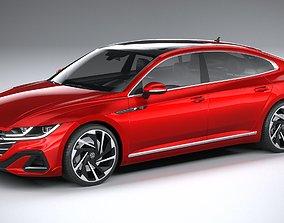 3D model Volkswagen Arteon 2021