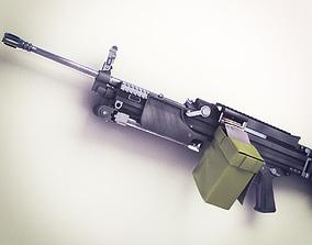 3D model MG4 Machine Gun Hi-Res