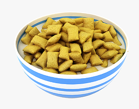3D model Bowl of Cereal 004