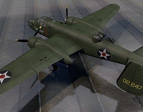 3D model North American B-25B Mitchell