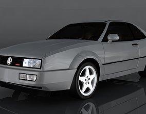 Volkswagen Corrado VR6 3D asset game-ready