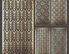 Decorative panel set 59 3D model