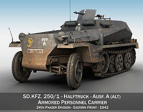 SDKFZ 250 - Halftruck - 24PD 3D
