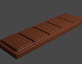 Chocolate Bar 3D dessert