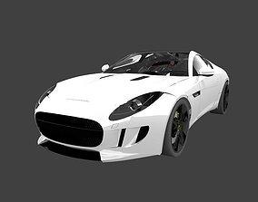 3D Jaguar F-type Coupe exterior